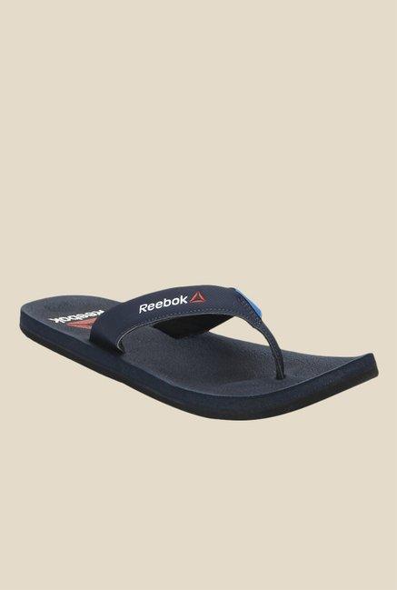 Reebok Adventure Navy Blue Flip Flops