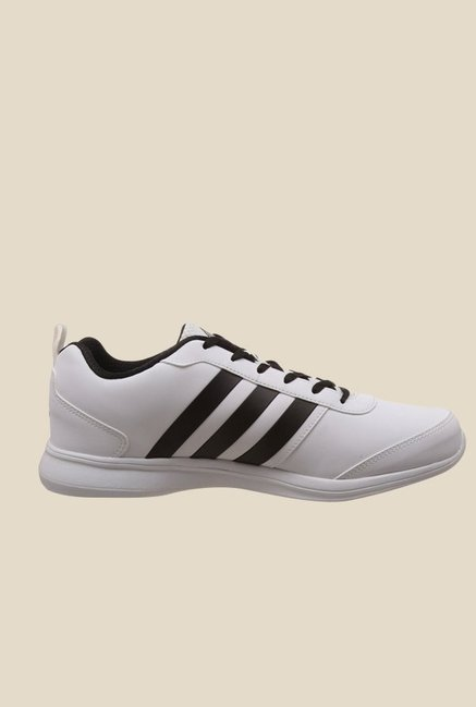 0bfcbf59446 Buy Adidas Alcor Syn 1.0 M White   Black Running Shoes For Men ...