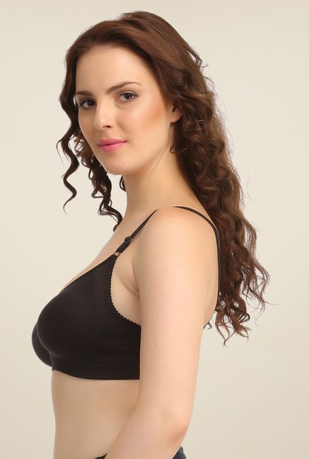 Clovia Black Non Wired Bra
