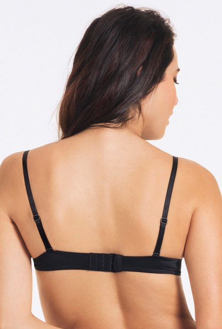 PrettySecrets Black Fabulous Push Up Bra