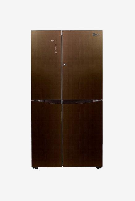 LG GC-M247UGLN 679 Ltr Refrigerator (Linen Brown )