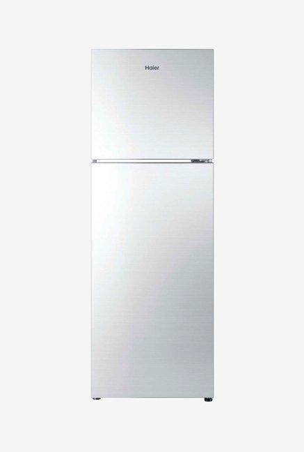 Haier HRF-2674PSG-R 247 L 3 Star Refrigerator (Silver Glass)