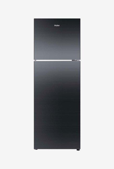 Haier HRF-2674PKG-R 247 L 3 Star Refrigerator (Black Glass)