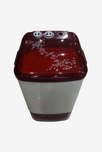 Onida WS65WLPT1LR 6.5 Kg Top Load Washing Machine (Lava Red)