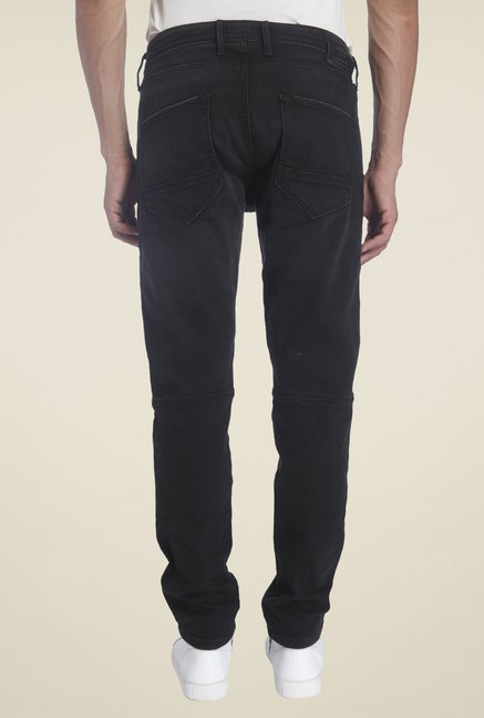 Jack & Jones Black Raw Denim Jeans
