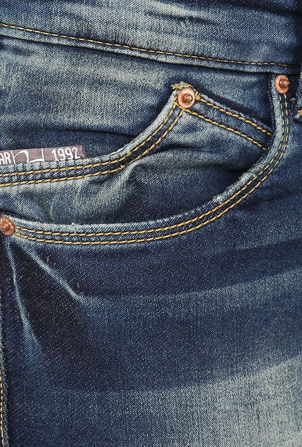 Spykar Blue Slim-fit Jeans