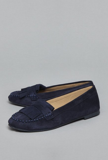 Head Over Heels by Westside Navy Moccasin Shoes