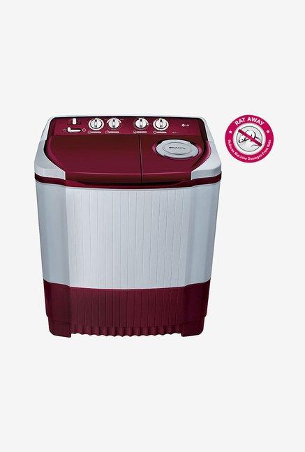 LG P7255R3FA 6.2 Kg Semi Automatic Top Load Washing Machine Burgundy