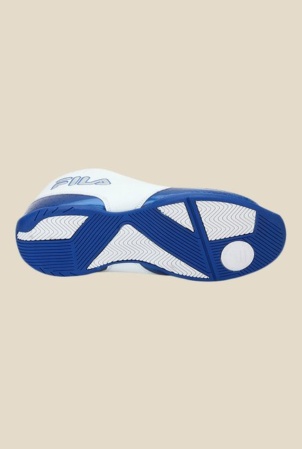 f680bb92f0cf Buy Fila Reversal White   Blue Basketball Shoes For Men Online At ...