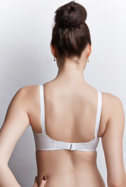 Libertina White Princess Non-wired Bra