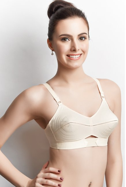 Libertina Beige Duchess Non-wired Bra