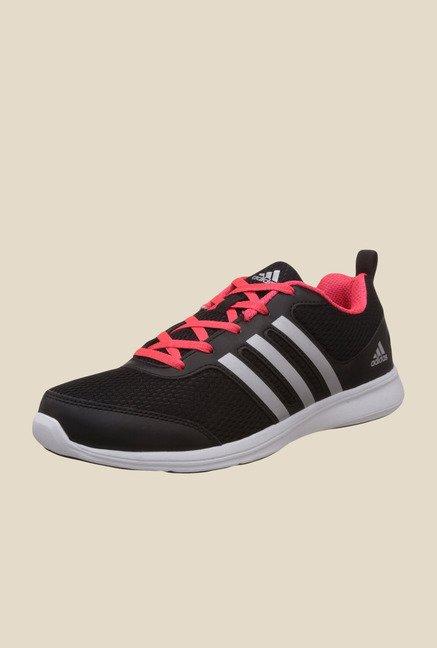Adidas Yking Black \u0026 Pink Running Shoes