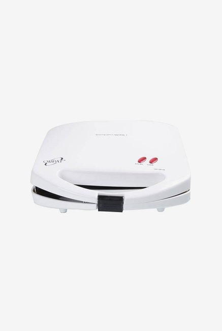 Orpat OST-1007 Dx 750 W Sandwich Toaster (White)