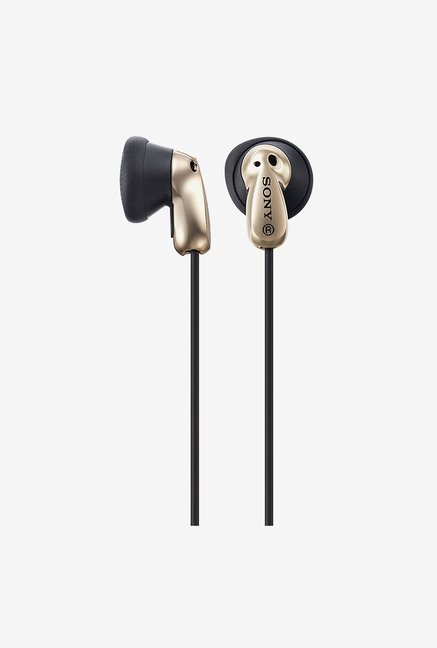 Sony MDR E8LP In the Ear Headphone (Gold)