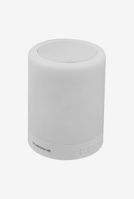 Ambrane Portable Lamp Bluetooth Speaker BT-6000 White