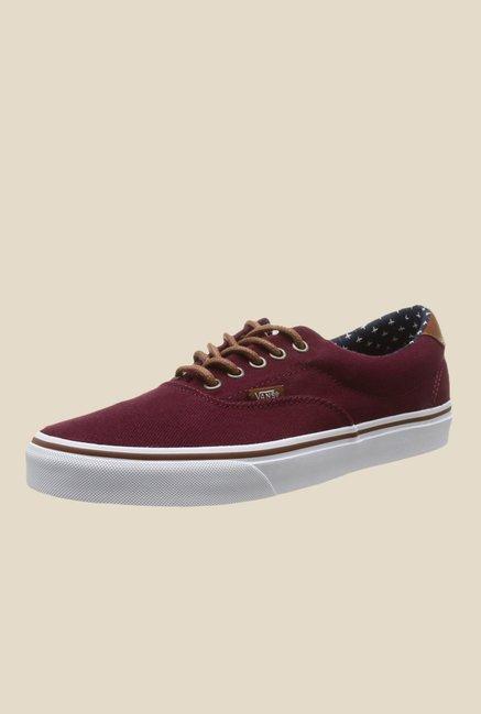 Buy Vans Era 59 Maroon Sneakers For Women Online At Tata CLiQ f936c3105