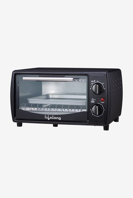 Lifelong LLOT10 10L Oven Toaster Grill (Black)