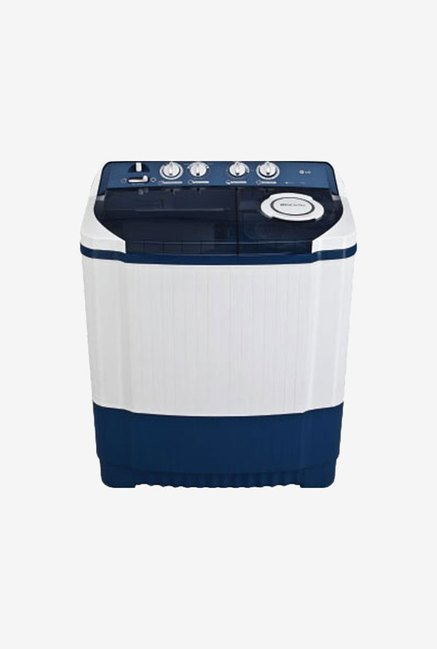 LG P8072R3FA 7.0 Kg Semi Automatic Top Load Washing Machine  Dark Blue