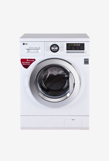 LG FH096WDL23 6.5 Kg Fully Automatic Front Load Washing Machine White