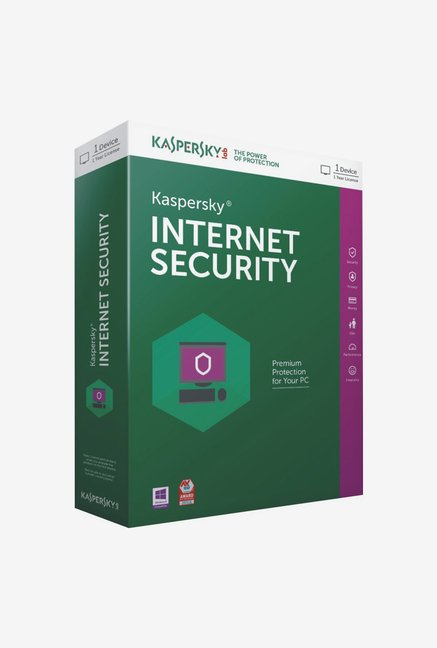 Kaspersky Internet Security Latest Version (1 PC/1 Year)