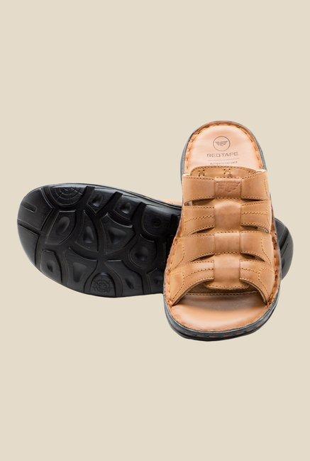Buy Red Tape Tan Casual sandals For Men