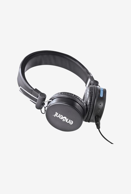 Envent Live fun 550 Foldable Bluetooth Headphone (Black)