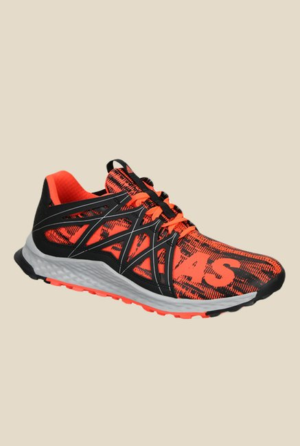 dc45889e9e32d Buy Adidas Vigor Bounce Orange   Black Running Shoes For Men Online At Tata  CLiQ