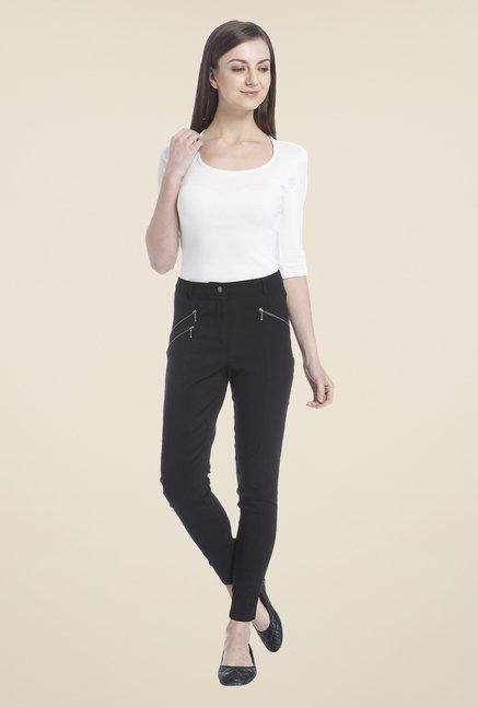 7cd76b5f58dd78 Buy Only Black Solid Jeggings for Women Online @ Tata CLiQ