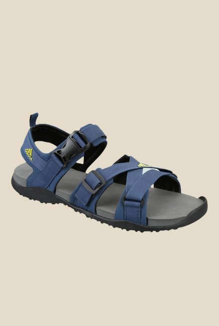 99ea43eca Buy Adidas Gladi Blue Floater Sandals For Men Online At Tata CLiQ