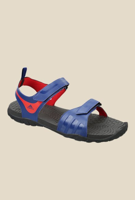 3f2c90373634 Buy Adidas Escape 2.0 MS Blue Floater Sandals For Men Online At Tata CLiQ