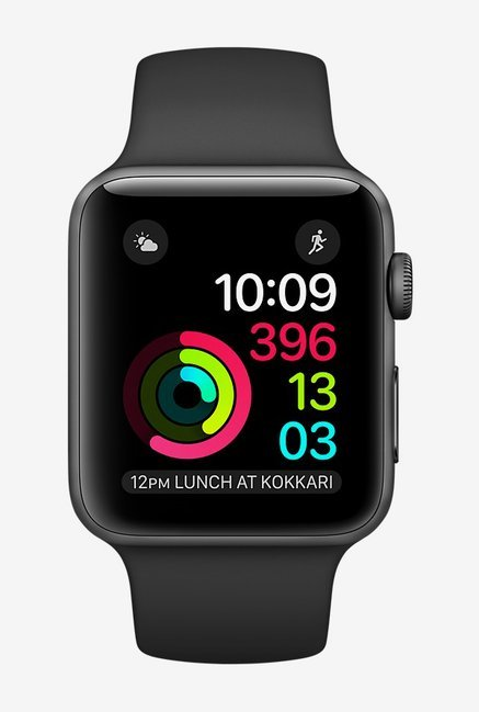 Apple Series 2 42 MM Smart Watch (Space Grey)