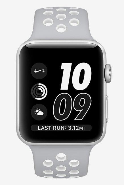 Apple Nike + 38 MM Smart Watch (Silver)