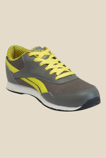 c3c813d353b89a Buy Reebok Classic Proton 2.0 LP Grey   Yellow Sneakers for Men at Best  Price   Tata CLiQ