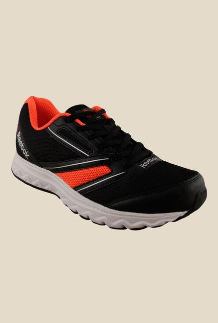 11a59c9c8875 Buy Reebok Explore Run Black   Orange Running Shoes for Men at Best Price    Tata CLiQ