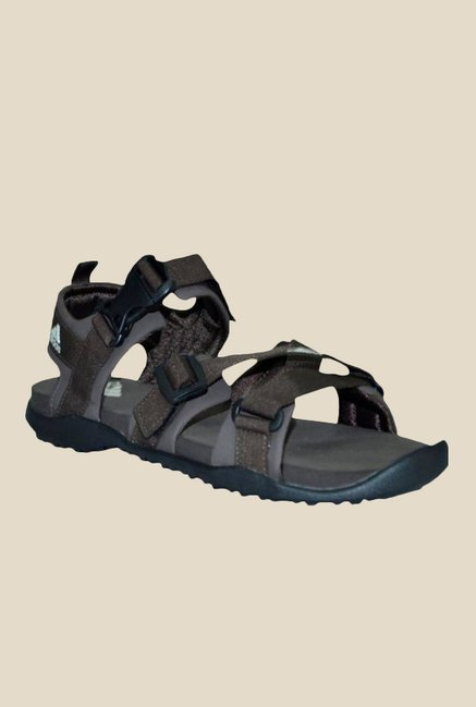 2c4bd6910556 Buy Adidas Gladi M Brown Floater Sandals For Men Online At Tata CLiQ