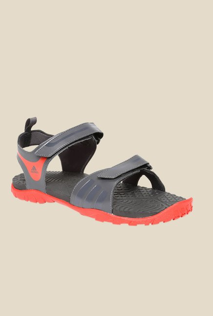 544a0da9c Buy Adidas Escape 2.0 Grey Floater Sandals For Men Online At Tata CLiQ