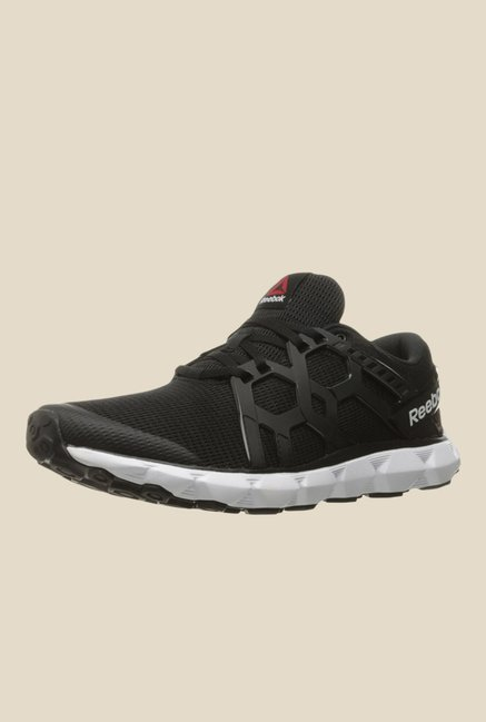 a33bf6af73eae4 Buy Reebok Hexaffect 4.0 MTM Black Running Shoes For Men Online At Tata CLiQ
