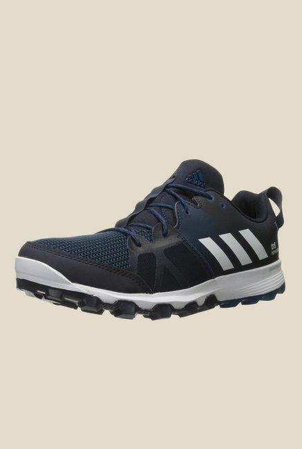 wholesale dealer ef28b 53603 Buy Adidas Kanadia 8 TR M Black   Blue Running Shoes For Men Online At Tata  CLiQ