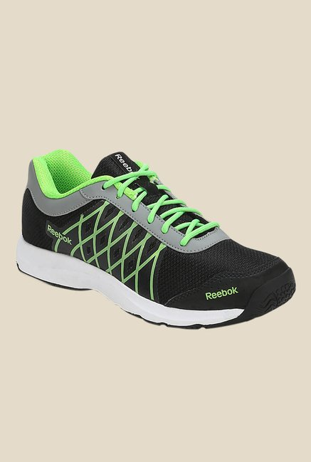 6c28d0a8715dc Buy Reebok Ripple Voyager Black Running Shoes For Men Online At Tata CLiQ