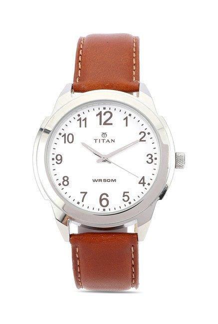 Titan 1585SL07C Classique Neo Analog Watch for Men
