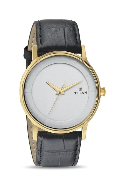 Titan 1672YL01 Classique Retro Analog Watch for Men