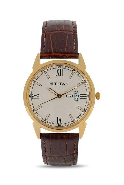Titan NF1521YL08 Classique Analog Watch for Men