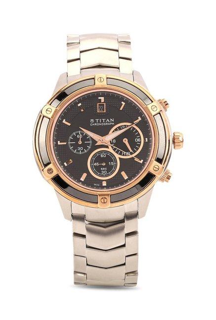Titan NH1657KM02 Regalia Analog Watch for Men