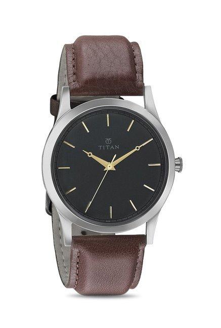 Titan 1674SL02 Classique Retro Analog Watch for Men