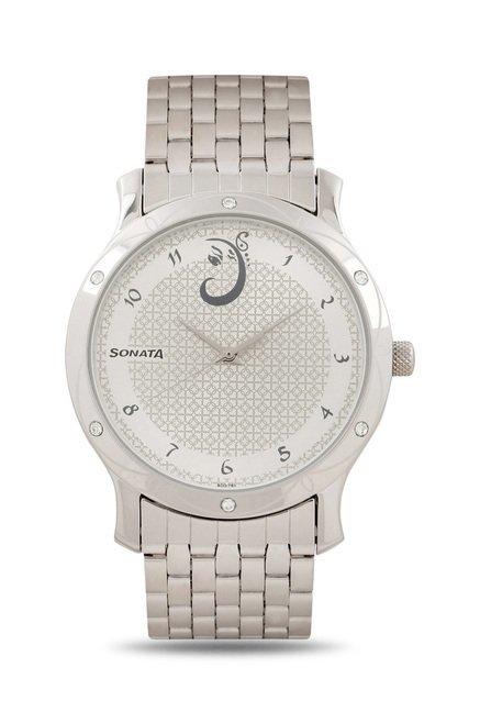 Sonata 7107SM01 Utsav Analog Watch for Men