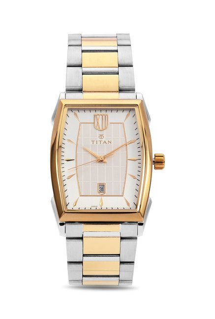 Titan 1692BM01 Regal Crest Analog Watch for Men