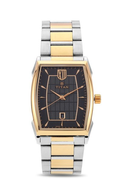 Titan 1692BM02 Regal Crest Analog Watch for Men