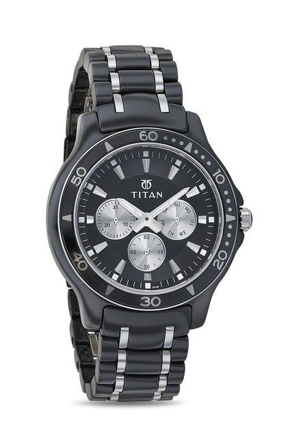 Titan 90020KD01J Regalia Analog Watch for Men
