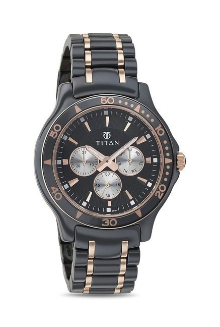 Titan 90020KD02J Regalia Analog Watch for Men