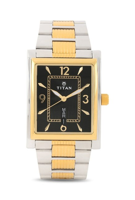 Titan 90024BM04 Karishma Slimline Analog Watch for Men